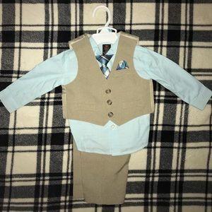 3-6 months formal 4 piece suit